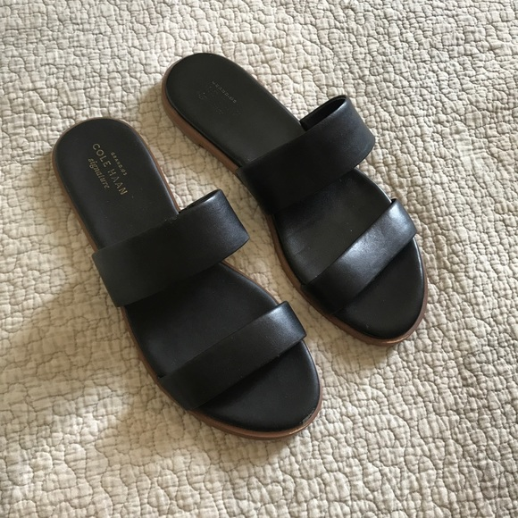 6d84a926625395 Cole Haan Shoes - Cole Haan Black Findra Sandal 7.5